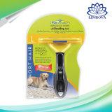 Cão de Estimação da escova pente de aparar os pêlos Deshedding Ferramenta para cães gatos