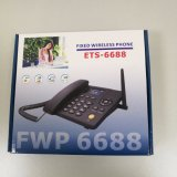 SIM Card를 가진 OEM Customized FM Radio Wireless 3G GSM House Phone 또는 Landline Phone