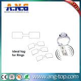 Tag contra-roubo do cair da jóia de RFID para a jóia