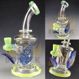 Tubo de água de vidro mais recentes Bontek lâminas de vidro do tubo de fumar