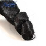 """새로운 별 느슨한 컬 100% 처리되지 않은 사람의 모발 씨실 두꺼운 머리 10 """" - 34 """" 길쌈하는 페루 Virgin 머리"""