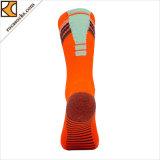 Chaussettes du football de piste du sport des hommes (165003SK)