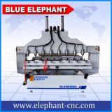 Маршрутизатор CNC Ele-2015 3D деревянный высекая, древесина маршрутизатора 3D CNC