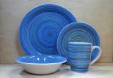 16pcs la vaisselle en céramique peinture main Set (WSY1111S)