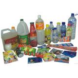 Étiquette de rétrécissement de PVC (paquet de nourriture)