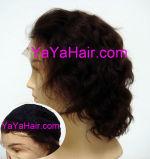 Perruque d'avant de lacet de cheveux humains