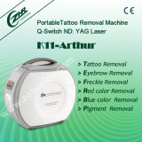 Interruptor Q portátil de remoção de tatuagens Máquina Laser