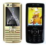 Telefoon van de Kaart SIM van de Band van de vierling de Dubbele Dubbele Reserve Mobiele (V90+)