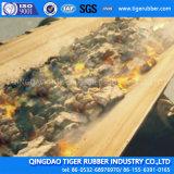 Banda transportadora resistente al fuego 630-5400n/m m de la cuerda de acero confiada de la calidad