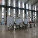 Equipo con la fermentadora cónica, equipo de la fabricación de la cerveza de la calefacción del combustible diesel de la elaboración de la cerveza de la destilación de la cerveza con el sistema del CIP para la planta del etanol
