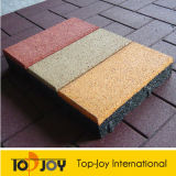 Colorful EPDM Granules (RT-1100)の45mm Playground Rubber Floor Tiles