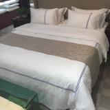 Baumwollnormale weiße Luxushotel-Bettwäsche-Sets 100%