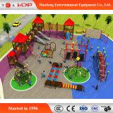 Venda por grosso de equipamento de parque infantil de aventura ao ar livre personalizada