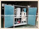 Transformador de vacío de la máquina de limpieza de petróleo con el remolque