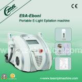 携帯用IPL毛の取り外しの美装置E9a-Eboni