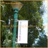 De Uitrusting van de Banner van de Reclame van Pool van de Straat van het metaal (BS-hs-018)