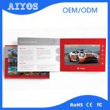 전시 광고 4.3 인치 LCD 인사장