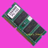 256MB PC133 133HMZ SDRAM SODIMM 144 Pinのラップトップの記憶