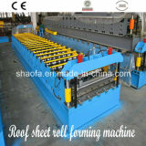 機械を形作る鋼鉄波形の屋根シートロールを着色しなさい