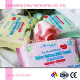 Baby Dry Wipes con 10sheets / Bolsa, húmedo y seco Use
