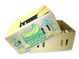 Os fabricantes de papelão de embalagem personalizada do transporte de Papelão Ondulado Frutas Caixa de bananas