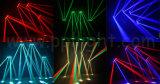 Luz principal movente Fullcolor da barra do feixe do diodo emissor de luz 4heads de RGBW 4in1
