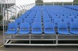 Asiento de plástico al aire libre al aire libre Tribuna del blanqueador al aire libre Sistema desmontable Sistema de asiento movible