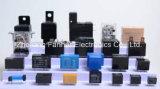 Relé de alimentação de montagem de PCB com bobina sensíveis