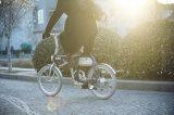 Matt während elektrisches Fahrrad mit Aluminiumrahmen-Lithium-Batterie