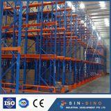 Entreposto Industrial de acionamento de serviço pesado na prateleira de armazenamento