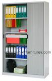 Дешевый стальной кухонный шкаф хранения двери Tambour