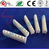 1-12 porcelana amarilla de marfil de la esteatita de los orificios de cerámica para el calentador de venda
