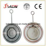 Plaquette mince Type de disque unique Clapet