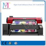직접 인쇄하는 직물을%s Epson Dx7 Printheads 1.8m/3.2m 인쇄 폭 1440dpi*1440dpi 해결책을%s 가진 면 직물 인쇄 기계