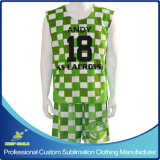 ReversiblesおよびShortsのカスタムSublimation Lacrosse Sports Garment