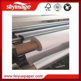 Anti-Curl 50g/m² papel de la sublimación de secado rápido para la impresión de poliéster