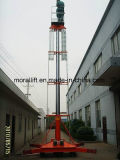 Einzeln-Mast Aluminiumlegierung-Arbeitsbühne