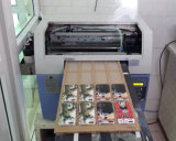 Imprimante UV de lit plat de la taille DEL de la machine d'impression de couverture de téléphone mobile d'imprimante de caisse de téléphone A3