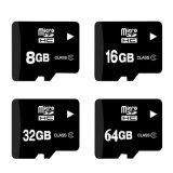 주문을 받아서 만들어진 로고를 가진 마이크로 SD 메모리 카드