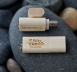 Относящий к окружающей среде привод вспышки USB древесины для подарка