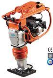 Rammer de vibração do solo da gasolina do motor de 5.5HP Honda para a consolidação da estrada com o motor 4-Stroke e fole alemão Gyt-72h