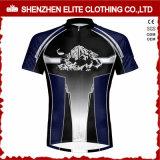 Camisola de ciclagem do Sublimation feito sob encomenda do logotipo para os homens (ELTCJI-7)
