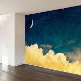 最新の流行のフルカラーの図形壁紙の壁画の印刷