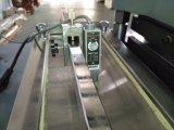 Máquina que corta con tintas de la escritura de la etiqueta plana caliente de la lámina para gofrar con velocidad