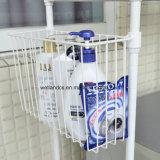 Cremagliera a resina epossidica della lavanderia della lavatrice della stanza da bagno del bobinatoio a cono del metallo di DIY