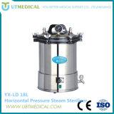 O Sterilizer portátil do vapor da pressão elétrico ou o LPG aqueceram-se