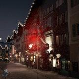 Het waterdichte OpenluchtLicht van de Laser van de Ster van Red&Green van de Decoratie van Kerstmis van Kerstmis