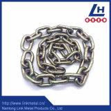 Galvanizado G70 de oro de la cadena de Binder Ojo con gancho de agarre y Delta Ring
