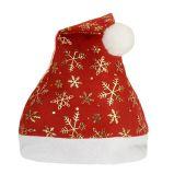 Chapéu de Santa do Natal do presente da decoração da promoção do bordado do velo