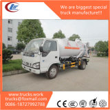 Isuzu 4X2 4000liters 4tonsの下水の吸引のタンク車